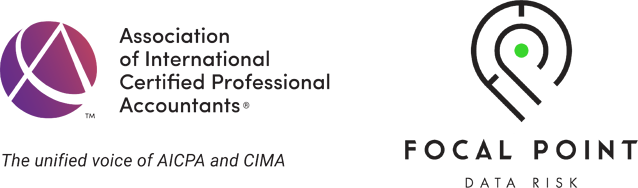 aicpa and focal point logos